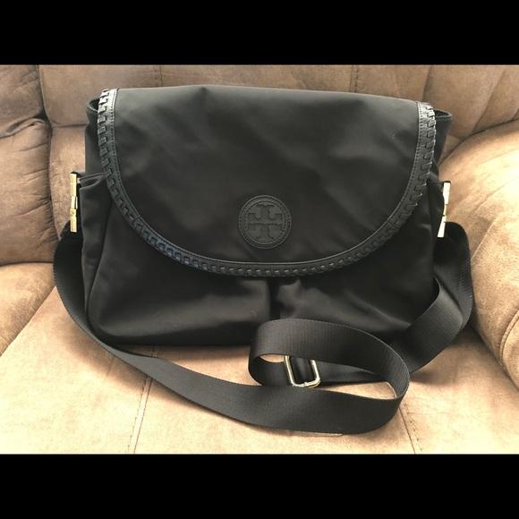 b64a2c4836ff Tory Burch Marion Black Diaper Bag. M 5accc6913b1608458c58c7fc